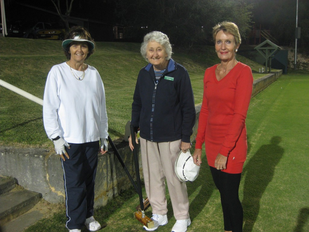 Club volunteers - Wendy, Val and Sue