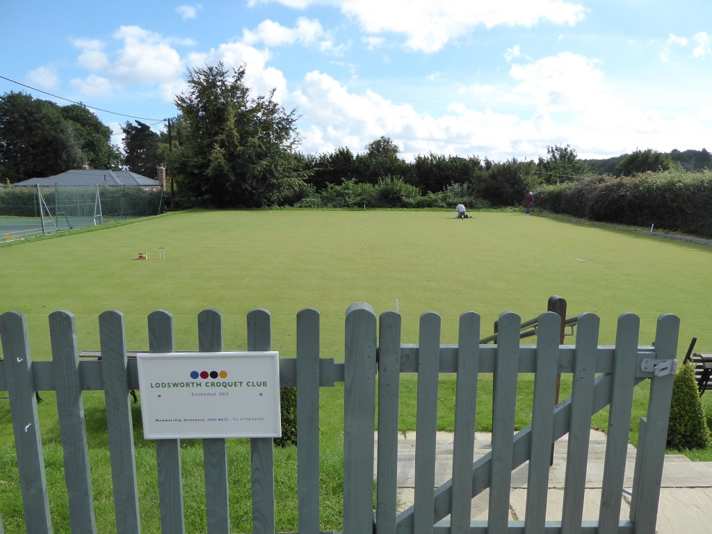 Lodsworth Croquet Club - one of the newest and smallest clubs in the UK